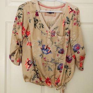 Mexx floral silky top